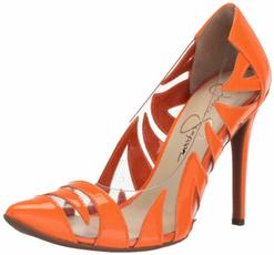 Orange, Pump, Heels, 55#