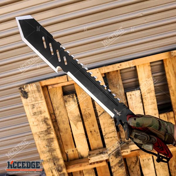 Zombies, Outdoor, swordsformen, Combat