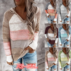 stitchingcolorsweater, hooded sweater, Hoodies, pullover sweater