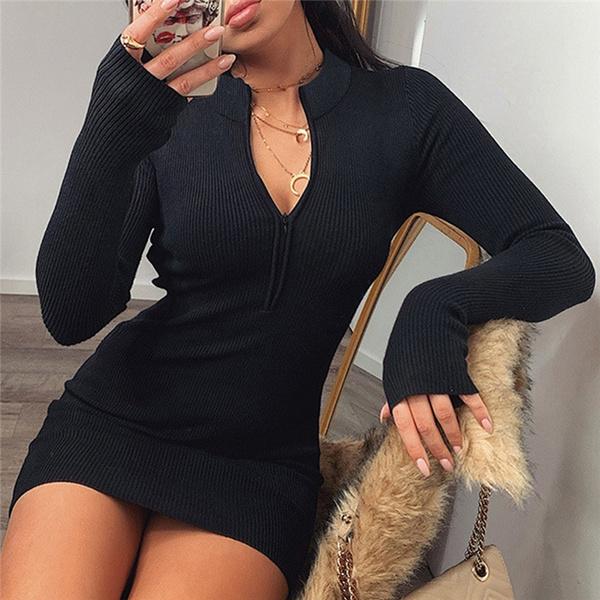 night dress, Fashion, sweater dress, Necks