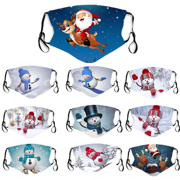 Outdoor, mouthmask, Christmas, merrychristma