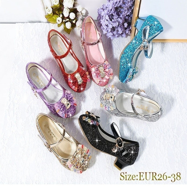 cute, Crystal, Sandals, Princess