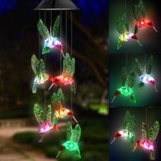 butterfly, Decor, led, Garden