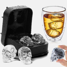 diy, Ice, skull, Cocktail