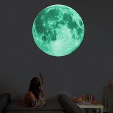 decoration, wallpapersticker, Decoración de hogar, moonwallsticker