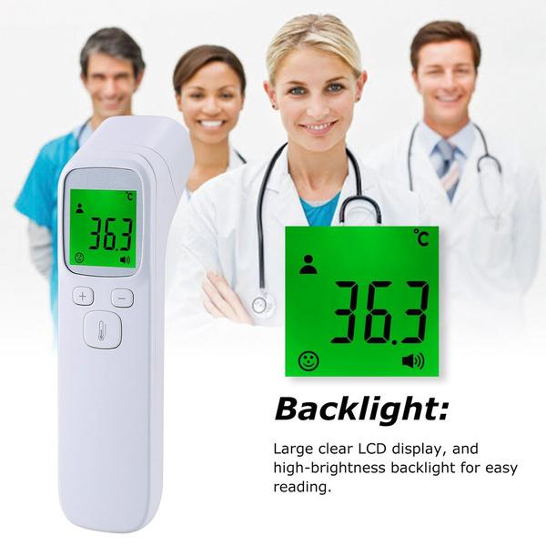 bodydigitallcdthermometer, fever, Monitors, Family
