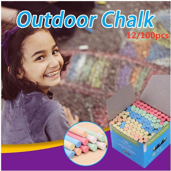 chalk, School, chalkboardpen, Colorful