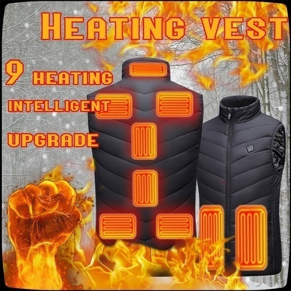 Jacket, Vest, heatedjacket, Outdoor