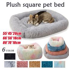 large dog bed, donutpad, fur, Pet Bed