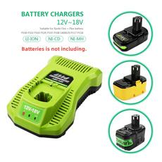 ryobi, ryobicharger, p117batterycharger, Battery