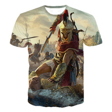 Summer, assassinscreedⅳ, Graphic T-Shirt, noveltytshirt