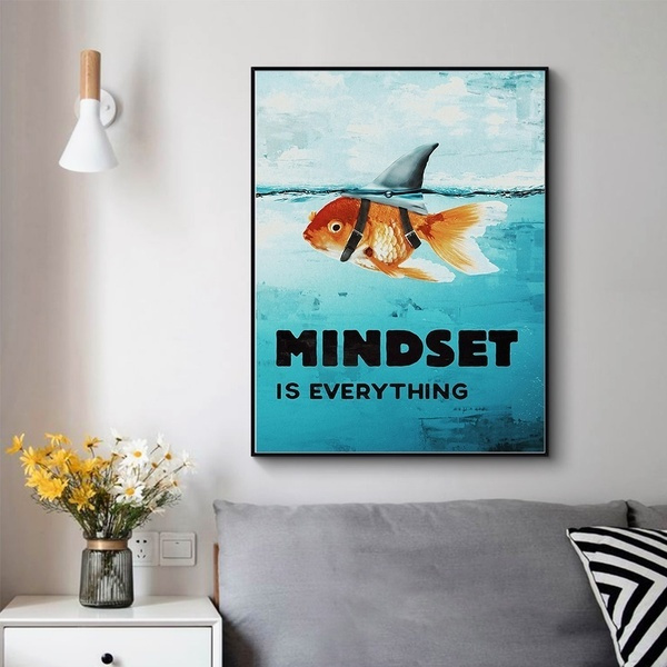 Shark, posters & prints, Wall Art, motivationalposter