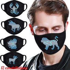 mouthmask, unisex, Masks, letterprinted
