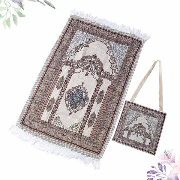 muslimmat, portableprayerrug, cottoncarpet, prayerrug
