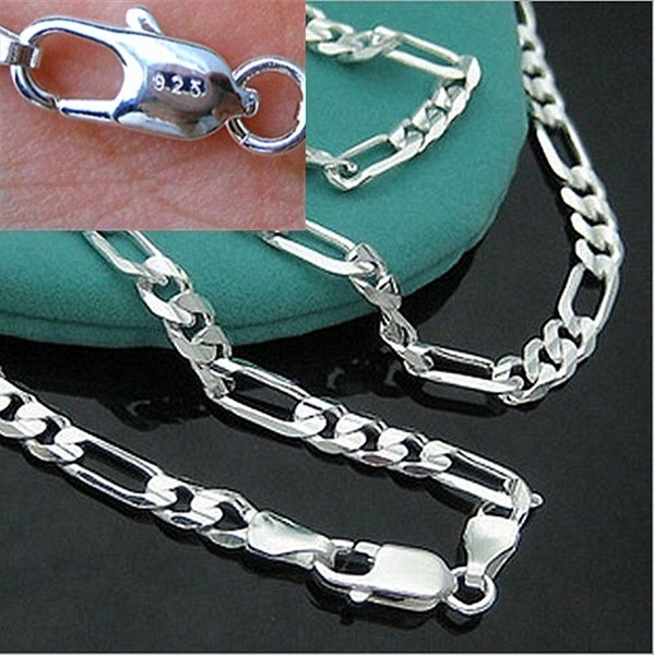 Sterling, Chain Necklace, Fashion, 925 sterling silver