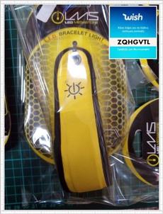 storeupload, led, Wristbands, Yellow