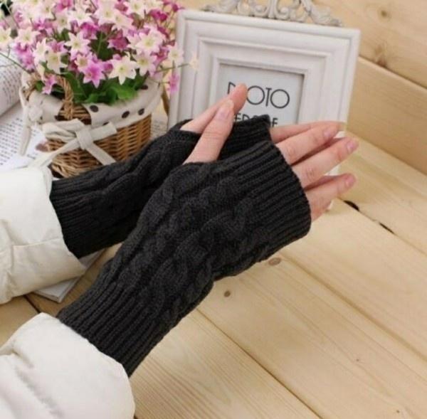 unisex, knitted, storeupload, Gloves