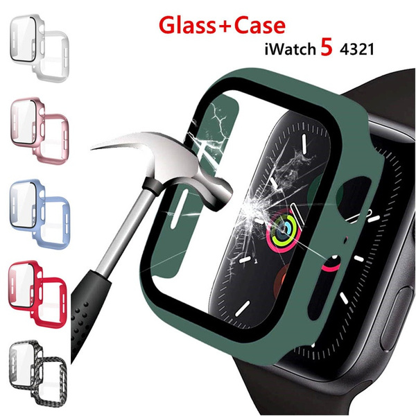 case, applewatch38mmcase, Apple, iwatchseries5casetempered