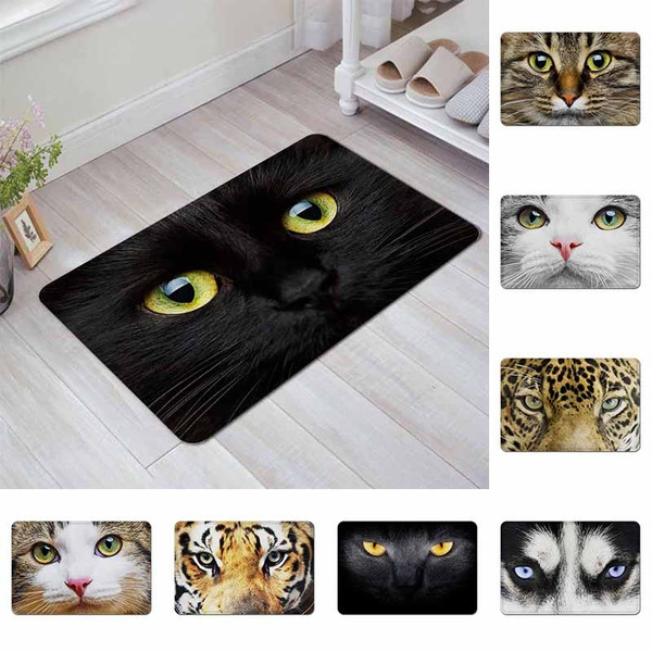 doormat, Bathroom, eye, Animal