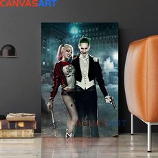 art, Home Decor, canvaspainting, moviebirdsofprey