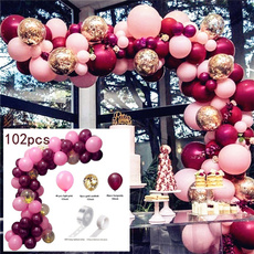 Christmas, Garland, balloonchain, Balloon