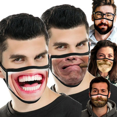 Funny, unisex, Masks, Windproof
