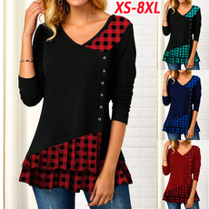 blouse, Plus size top, long sleeved shirt, Shirt