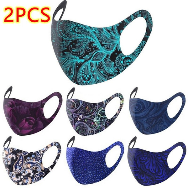 Outdoor, mouthmask, outdoorfashion, flowersprinted