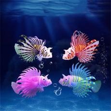 decoration, Tank, artificialfish, Glow