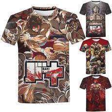 Summer, Shorts, Graphic T-Shirt, Sleeve