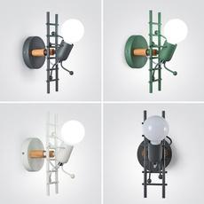 lightingfixture, ironwalllight, bedsidewalllight, cartoonwalllight