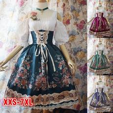 Fashion, Medieval, Cosplay Costume, Dress