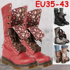 ankle boots, boots for women, Leather Boots, Lace