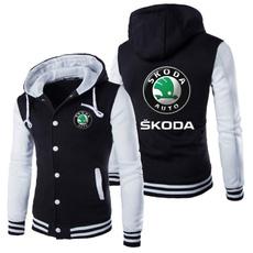 Jacket, Unique, skodasweatshirt, skodabaseballjacket