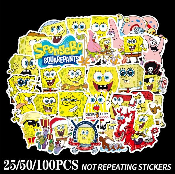 Car Sticker, suitcasesticker, Sponge Bob, Luggage