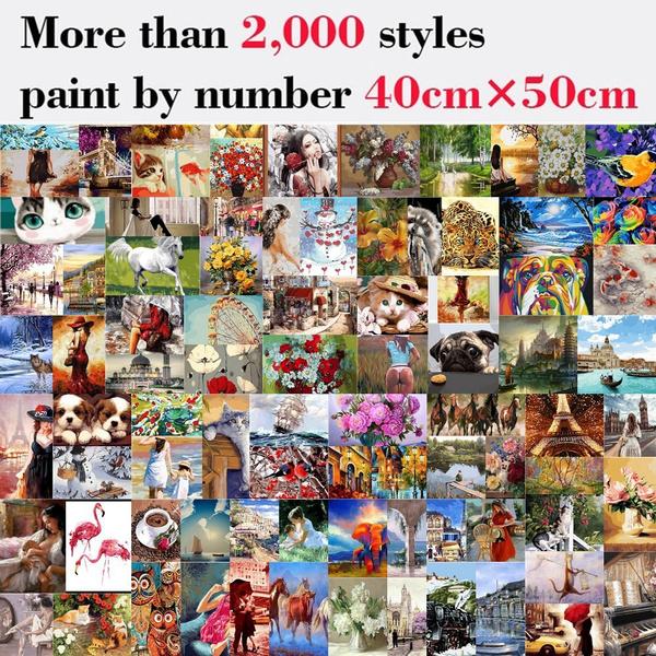 paintbynumber, diy, pintarconnumero, paintbynumbersforadult