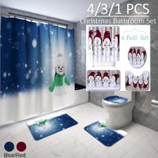 non-slip, snowman, Bathroom, bathroomdecor