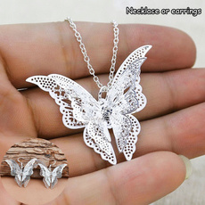 butterfly, Fashion, Jewelry, necklace pendant