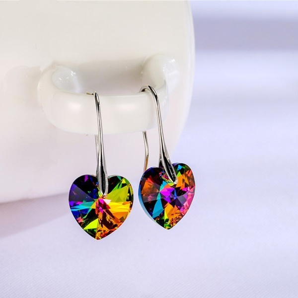 Heart, Fashion, Dangle Earring, Jewelry