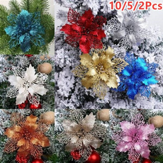 xmasartificialflower, christmastreeflower, Flowers, Christmas