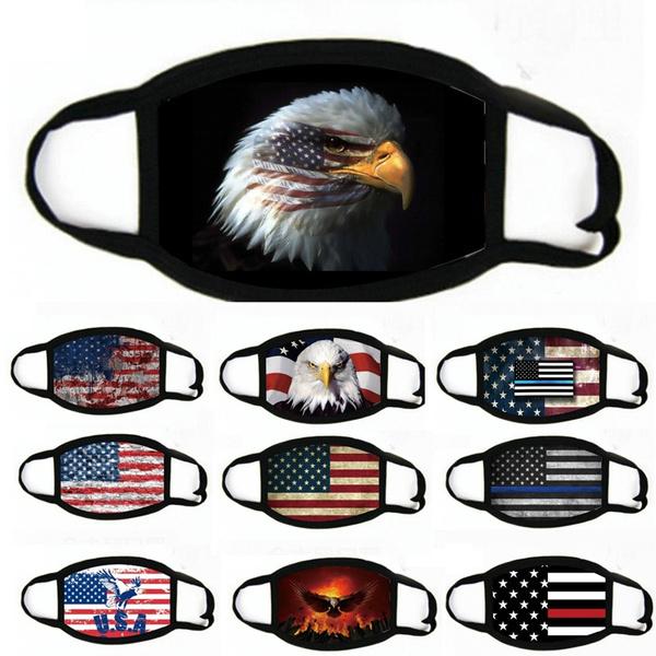 antifogmask, Cotton, americanflagmask, Masks
