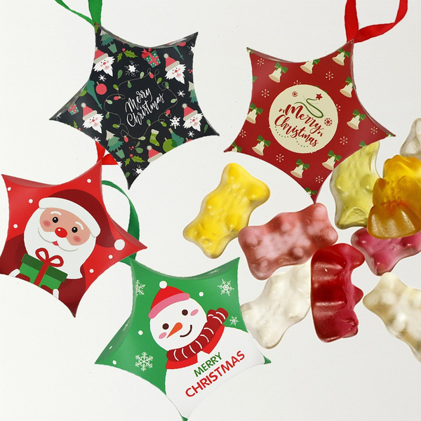 snowman, Box, candybox, Star