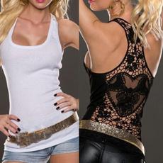 Women Vest, Vest, Tank, Lace