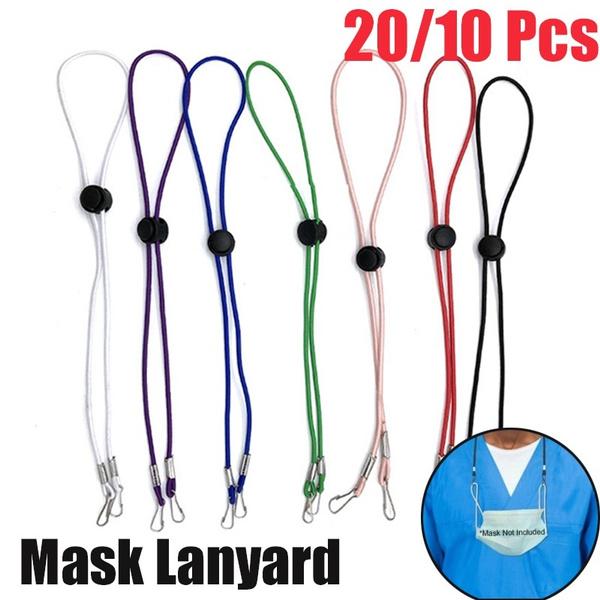 neckrope, Adjustable, maskrope, safetymask
