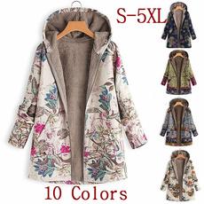 fur coat, Plus Size, zipperjacket, fluffy