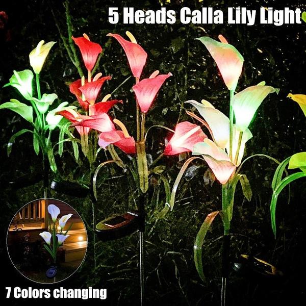 stakelight, solarlight, Garden, Colorful