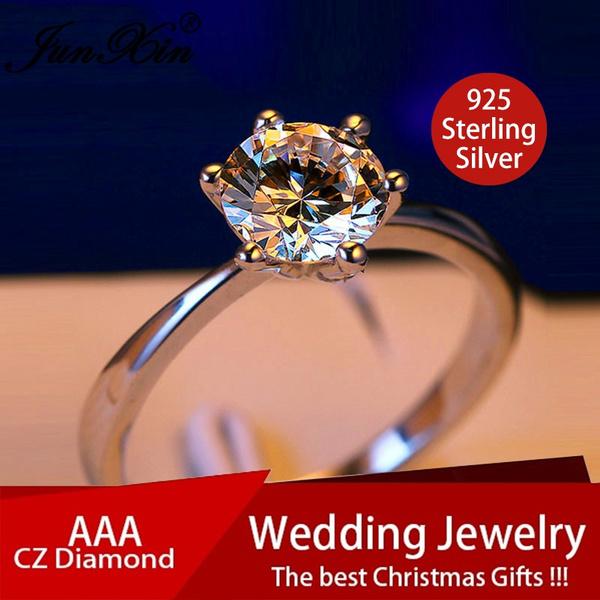 Sterling, Women, DIAMOND, Jewelry