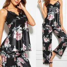nightwear, womenhomewear, Spring, silksleepwear
