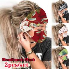 Women, maskturban, mouthmask, antihairband