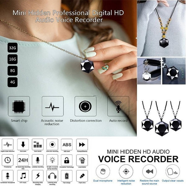 audiorecorder, techampgadget, Jewelry, Voice Recorder